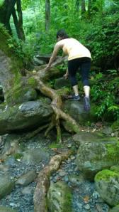 Sarah climb