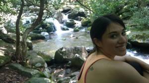 Sarah falls